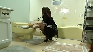 Hot Maid gets Anally Punished