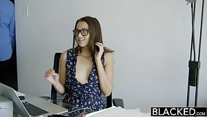 BLACKED Cheating Allie Haze Loves Interracial Anal Sex