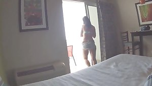 Homemade sex in hotel