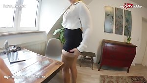 MyDirtyHobby - Teen intern fucks say no to coworker in the office