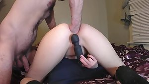 Little Teen Gets Double Anal Training and Fisted - Full Video