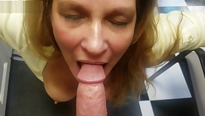 My Fustigate Guests Hot Horny Mom Surprises Me and Sucks On my Big Young Cock
